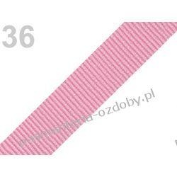 TAŚMA PARCIANA, NOŚNA 25mm (do toreb itp) 1m - różowa Akrylowe