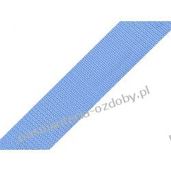TAŚMA PARCIANA, NOŚNA 30mm (do toreb itp) 1m - błękitna Zamki i zapięcia