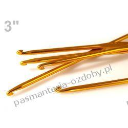 Szydełka metalowe / szydełko / 3,00 mm - 15cm Szablony i maski