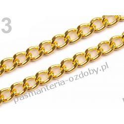 Łańcuszek 0,5x120 cm do torebek - kolor złoty Filcowanie