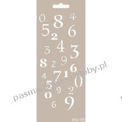 Szablon, Maska Mix Media 10 X 25 cm - MU59 Igły, szpilki i agrafki