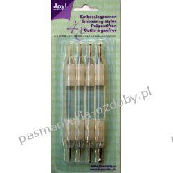 Komplet 4 ołówków do wytłaczania Joy! Drewniane