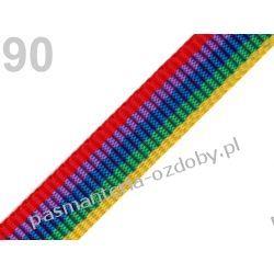 TAŚMA PARCIANA, NOŚNA 20mm (do toreb itp) 1m - multi Przedmioty do ozdabiania