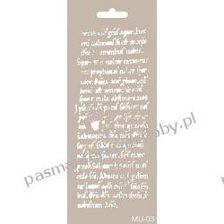 Szablon, Maska Mix Media 10 X 25 cm - MU03