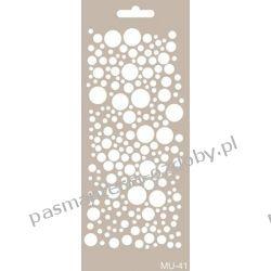 Szablon, Maska Mix Media 10 X 25 cm - MU41 Druty, szydełka i czółenka