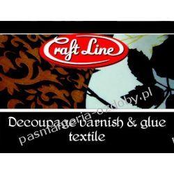 Klej i lakier do tkanin 100ml Craft Line Dodatki i ozdoby