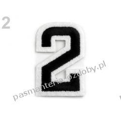 Naprasowanka - cyfra 2 Druty, szydełka i czółenka
