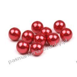 KORALIKI / PEREŁKI 4 mm - opk 6g(około245-260szt) - czerwony Crackle