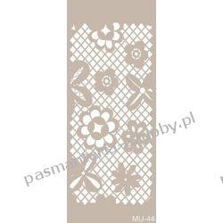 Szablon, Maska Mix Media 10 X 25 cm - MU44 Guziki