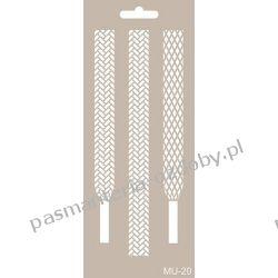 Szablon, Maska Mix Media 10 X 25 cm - MU20 Drewniane