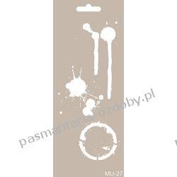 Szablon, Maska Mix Media 10 X 25 cm - MU27 Akrylowe