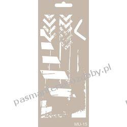 Szablon, Maska Mix Media 10 X 25 cm - MU15 Zamki i zapięcia