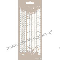 Szablon, Maska Mix Media 10 X 25 cm - MU18 Drewniane