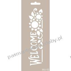 Szablon, Maska Mix Media 10 X 25 cm - MU52 Akcesoria i gadżety