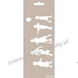 Szablon, Maska Mix Media 10 X 25 cm - MU63 Scrapbooking