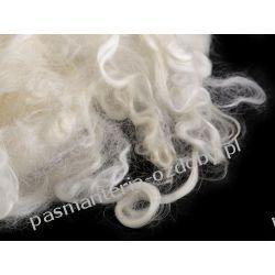 Moher naturalny 20 g (filcowanie, włosy anioła... Filcowanie