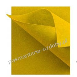 FILC  sztywny - ark.30x40 cm /2mm żółty Filcowanie