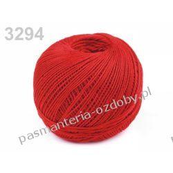 KORDONEK nici Snehurka 50x3 30g/200m - czerwony