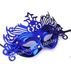 MASKA KARNAWAŁOWA Wind - niebieska Przebrania, kostiumy, maski