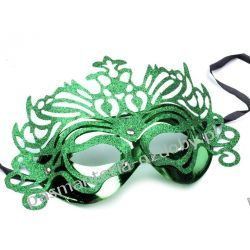 MASKA KARNAWAŁOWA Wind - zielona Przebrania, kostiumy, maski