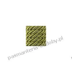 Sznurek skręcany 7mm - 1m - oliwkowy Włóczki
