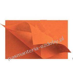 FILC  sztywny - ark.30x40 cm /2mm ciemny pomarańcz Filcowanie