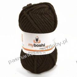 Włóczka MYBOSHI Nr1 wełna+akryl 50g k.174 kakao Przedmioty do ozdabiania