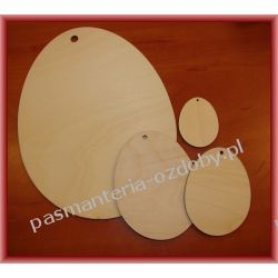DECOUPAGE WIELKANOC JAJKO / JAJKA 4cm Drewniane