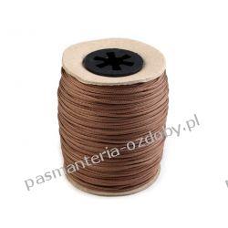 Sznur poliestrowy (techniczny) do koralików / do żaluzji Ø1,4mm - brązowy Rzemyki i sznurek jubilerski