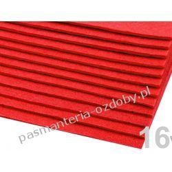 FILC sztywny -ark.20x30cm/1,5-2mm 300g/m2 - czerwony Scrapbooking