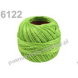 KORDONEK nici Perlovka NITARNA 60x2 10g/85m - 6122 jasny zielony Druty, szydełka i czółenka