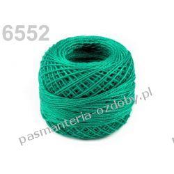 KORDONEK nici Perlovka NITARNA 60x2 10g/85m - 6552 zielono-turkusowy Pozostałe