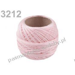 KORDONEK nici Perlovka NITARNA 60x2 10g/85m - 3212 jasny różowy Taśmy i tasiemki