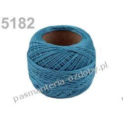 KORDONEK nici Perlovka NITARNA 60x2 10g/85m - 5182 niebieski Nieskategoryzowane