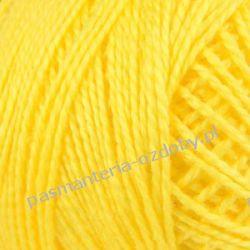 KORDONEK nici KARAT 8 ARIADNA 76x2 10g/65m - żółty 405 Przedmioty do ozdabiania