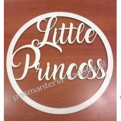KOŁO BAZA (sklejka) do łapacza snów 25 cm Little Princess Nici