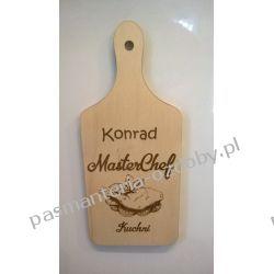 MAGNESY NA LODÓWKĘ (Konrad[lub dowolne imię] MasterChef Kuchni) Rękodzieło