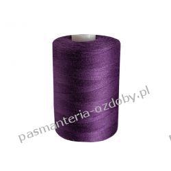 Nici poliestrowe, nawój 1000m PES 40/2 - ciemny fioletowy Akrylowe