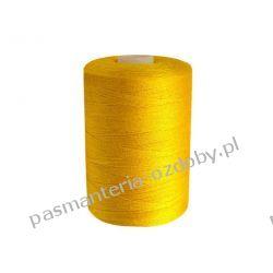 Nici poliestrowe, nawój 1000m PES 40/2 - ciemny żółty