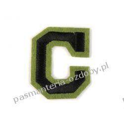 Naprasowanka - litera C Igły, szpilki i agrafki