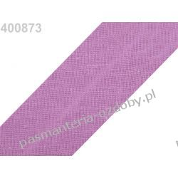 Lamówka skośna bawełniana szerokość 30mm - lawendowa