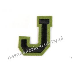 Naprasowanka - litera J Przedmioty do ozdabiania