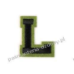 Naprasowanka - litera L Zamki i zapięcia