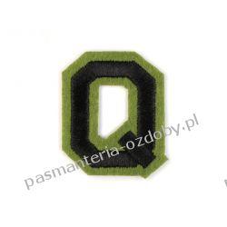 Naprasowanka - litera Q Rękodzieło