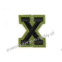 Naprasowanka - litera X Rękodzieło