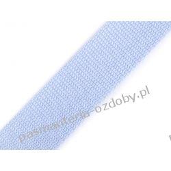 TAŚMA PARCIANA, NOŚNA 30mm (do toreb itp) 1m - błękitny Zamki i zapięcia