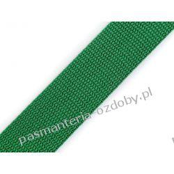 TAŚMA PARCIANA, NOŚNA 30mm (do toreb itp) 1m - zielony Taśmy i tasiemki
