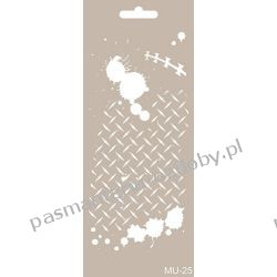 Szablon, Maska Mix Media 10 X 25 cm - MU25 Scrapbooking