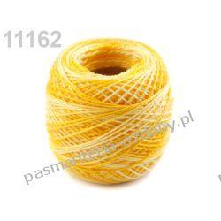 KORDONEK nici Perlovka OMBRE NITARNA 60x2 10g/85m - cieniowany ciemny żółty Taśmy i tasiemki