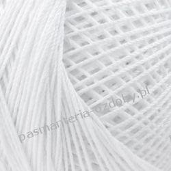 KORDONEK nici Muza 20 kol. 0400 (biały) Koraliki i cekiny